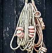 Fishing Net Art Print