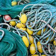 Fishing Nets Art Print