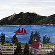Fishing Schooner Art Print