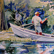 Fishing Spruce Creek Art Print