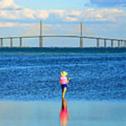 Fishing Tampa Bay Art Print by David Lee Thompson