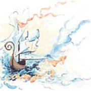 Fiship Art Print