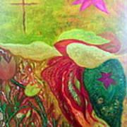 Fishstiqueart 2010 Art Print by Elmer Baez