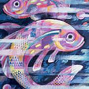 Fishstream Print by Sarah Porter