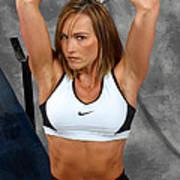 Fitness36-2 Art Print