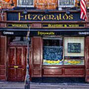 Fitzgeralds Pub - Dublin Ireland Art Print