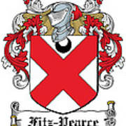 Fitzpearce Coat Of Arms Irish Art Print
