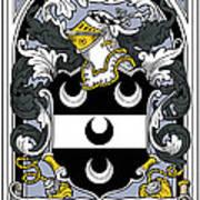 Fitzsimmons Coat Of Arms Irish Art Print