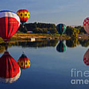 Five Aloft Art Print by Mike  Dawson