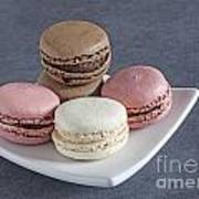 Five Macaroons Art Print