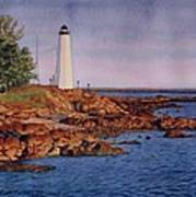 Five Mile Point Lighthouse Art Print