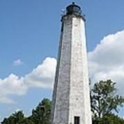 Five Mile Point Lighthouse Art Print
