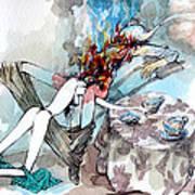 Five O'clock Tea Art Print