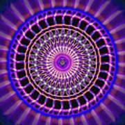 Five Star Gateway Kaleidoscope Print by Derek Gedney