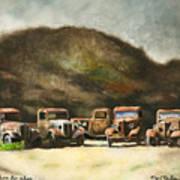 Five Star Motors... Art Print