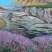 Fjord In Norway Art Print