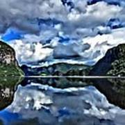 Fjords Of Norway Art Print
