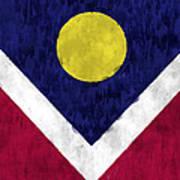 Flag Of Denver Art Print
