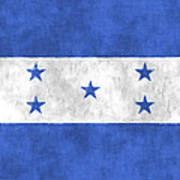 Flag Of Honduras Art Print