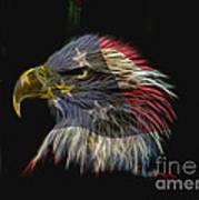 Flag Of Honor Art Print