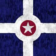 Flag Of Indianapolis Art Print