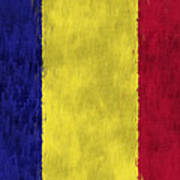 Flag Of Romania Art Print