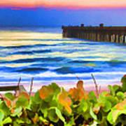 Flagler Beach Beautiful Art Print