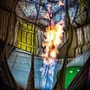 Flame On Art Print