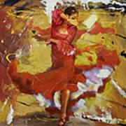 Flamenco 44 Art Print