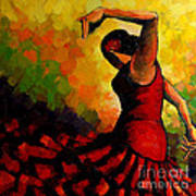Flamenco Art Print