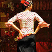 Flamenco Series #5 Art Print