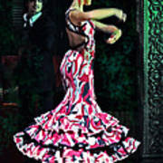 Flamenco Series No. 10 Print by Mary Machare