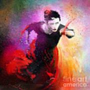 Flamencoscape 03 Art Print