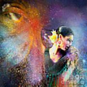 Flamencoscape 04 Art Print