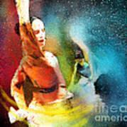 Flamencoscape 08 Art Print