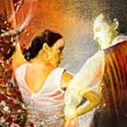 Flamencoscape 10 Art Print