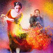 Flamencoscape 11 Art Print