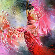 Flamencoscape 13 Art Print