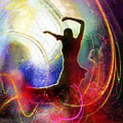 Flamencoscape 16 Art Print