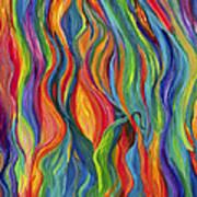 Flames Dancing Art Print