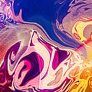 Flaming Colors Art Print
