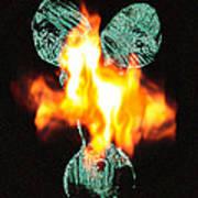 Flaming Personality Art Print
