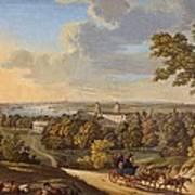 Flamstead Hill, Greenwich The Art Print