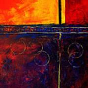 Flash Abstract Painting Art Print