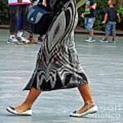 Flat Shoes And Leg Bracelet Art Print