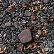 Flat Skipping Stones Art Print