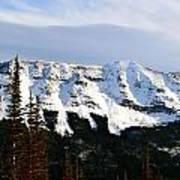 Flat Top Mountain Art Print