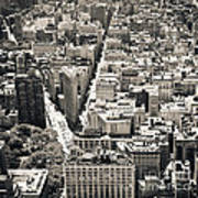 Flatiron Building - New York City Art Print