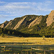 Flatirons From Chautauqua Park Art Print by James BO  Insogna