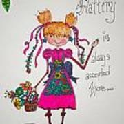 Flattery Art Print by Mary Kay De Jesus